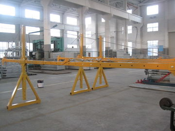 Lifting Suspension Mechanism Suspended Work Platform With Dipping Zinc / Painted Steel Material