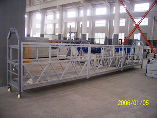 800 Rated Load Personalized Rope Steel Suspended Rope Platform For Building Maintenance