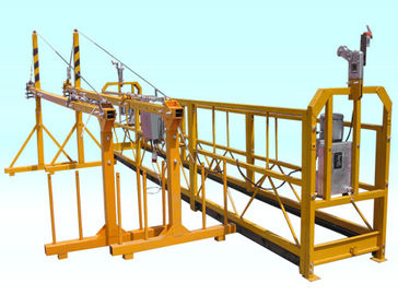 Podwieszana platforma do odkurzania ODM Steel Yellow High Working Rope
