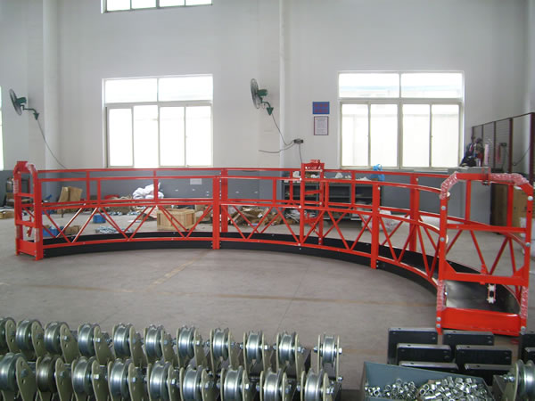 Steel Arc Suspended Access Platform High Powered for Decoration